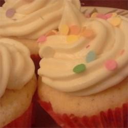 Sweet vanilla cupcakes