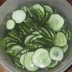 Fresh Frozen Cucumbers Recipe