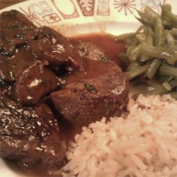 Beef Medallions with Caramelized Pan Sauce Recipe