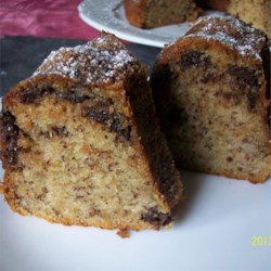 Maui Banana Cream Tube Cake Recipe