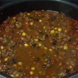 Chad's Slow Cooker Taco Soup Recipe