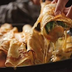 Savory Stuffed Crepes Recipe
