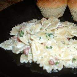 Leek, Bacon, and Pasta Recipe