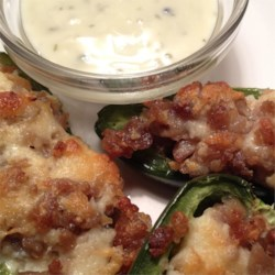 Sausage Stuffed Jalapenos Recipe