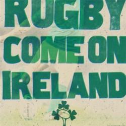 Ireland, Ireland, together standing tall!