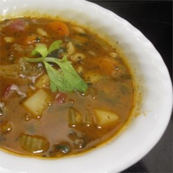 Claudette's Minestrone Recipe