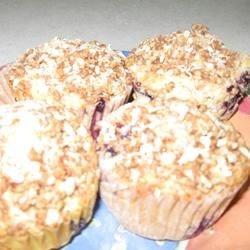Oatmeal Bluebery Muffins