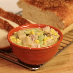Sufferin' Succotash Chicken Stew