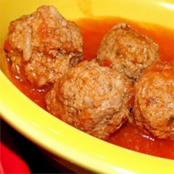 Albondigas (Meatballs) en Chipotle Recipe