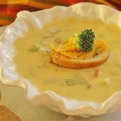Wisconsin Cheese Soup II Recipe