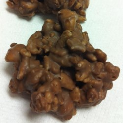 Chocolate Peanut Puffs