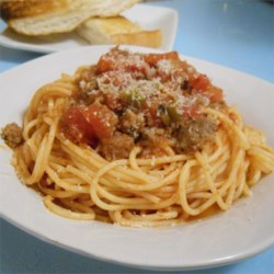 Red Bowl Spaghetti Recipe