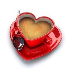 Love my Coffee Valentine
