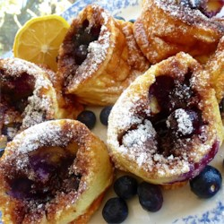 Blueberry Popovers Recipe