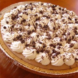 Creamy Chocolate Mousse Pie Recipe