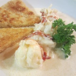Lobster Fricassee Recipe