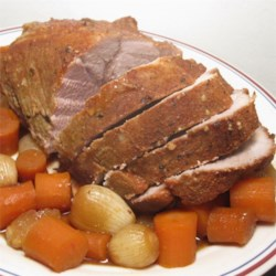 Tender Slow Cooked Pork Roast  Recipe
