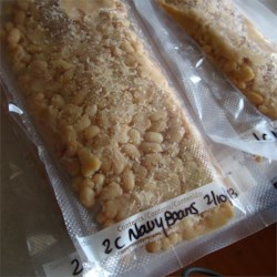 Navy Beans for Freezer