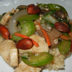 Chinese Almond Chicken Stir-Fry Recipe