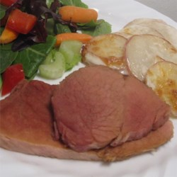 Easy Baked Ham Steaks Recipe