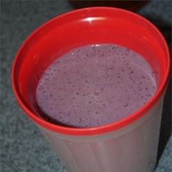 Heavenly Blueberry Smoothie