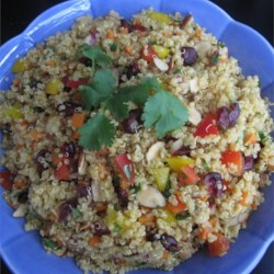 Cranberry and Cilantro Quinoa Salad Recipe