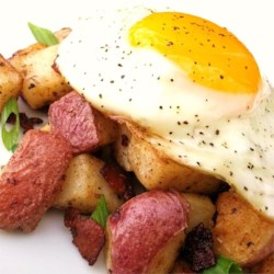 Hungry Man's Hash Browns Recipe