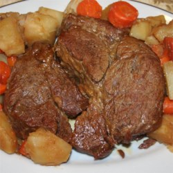 Easy Pressure Cooker Pot Roast Recipe
