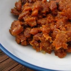 slow cooker baked beans printer friendly