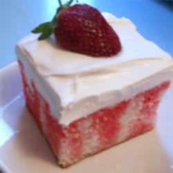 Gelatin Poke Cake
