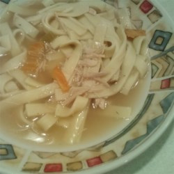 Old Man's Turkey Noodle Soup Recipe
