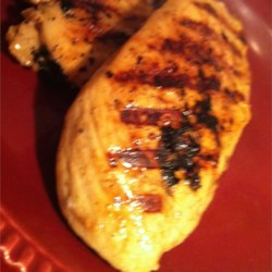 Dijon Lemon Grilled Chicken