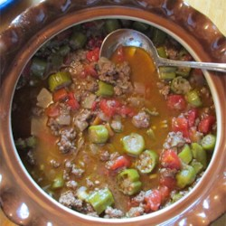 Beef and Okra Bamia  Recipe