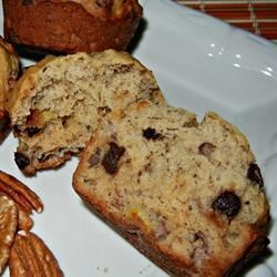 Photo of Most Requested Banana Chocolate Chip Muffins by Sandy Brown