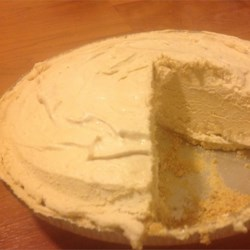Peanut Butter Mousse Pie  Recipe