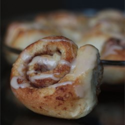 Cinnamon Rolls From Frozen Bread Dough - EASY Recipe