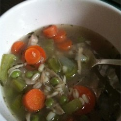 Hearty Barley Turkey Soup Recipe