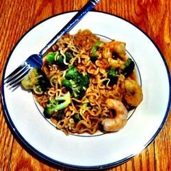 Easy Shrimp Lo Mein Recipe