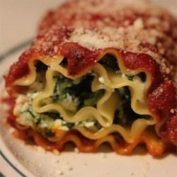 spinach lasagna roll ups recipe photos