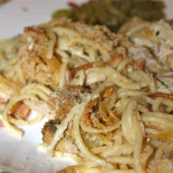 Megan Rae's Chicken Tetrazzini |