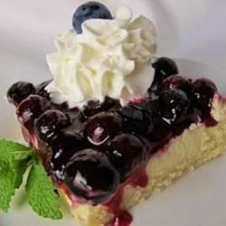 Blueberry Shortbread Cheesecake Recipe