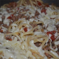 Skillet Spaghetti Supper Recipe