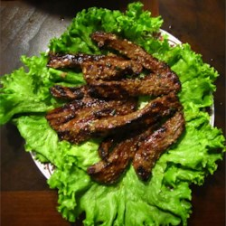 Lean Beef Bulgogi on Lettuce