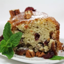 Cranberry-Pecan Olive Oil Cake Recipe