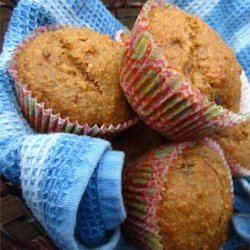 Hearty Whole Grain Muffins Recipe