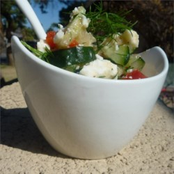 Cucumber Feta Salsa Recipe