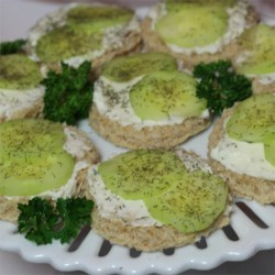 Summer Time Cucumber Sandwiches Recipe