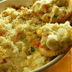 Hot Artichoke and Crab Dip