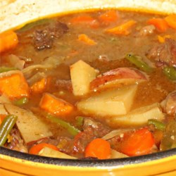 Mom's Portuguese Beef Stew Recipe