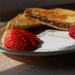 Peanut Butter and Chocolate Panini Recipe